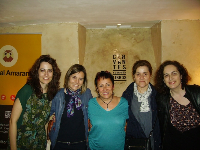 Encuentro con lectores en Librería Cervantes y Compañía en Madrid
