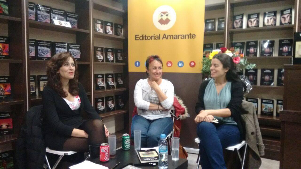 Encuentro autoras de Relato con Silvia Sánchez Rog y Emma Cotro